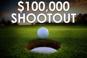 $100,000 Shootout Tournament Sign